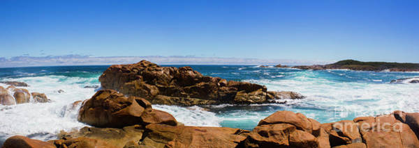 Wall Art - Photograph - True Blue Aussie Coastline by Jorgo Photography - Wall Art Gallery