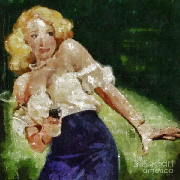 Painting - True Crime by Edward Fielding