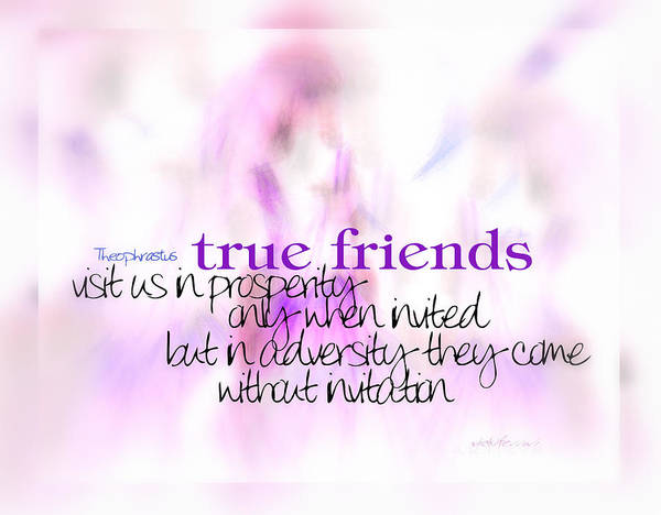 True Friends Art Print