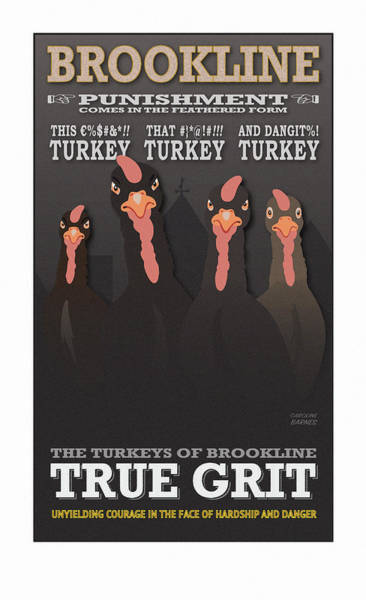 Turkey Digital Art - True Grit by Caroline Barnes