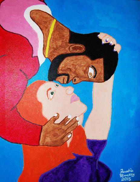 Gullah People Wall Art - Painting - True Love by Quadre' Stuckey