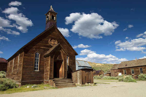 Bodie Ghost Town Wall Art - Photograph - True Religion by Ricky Barnard