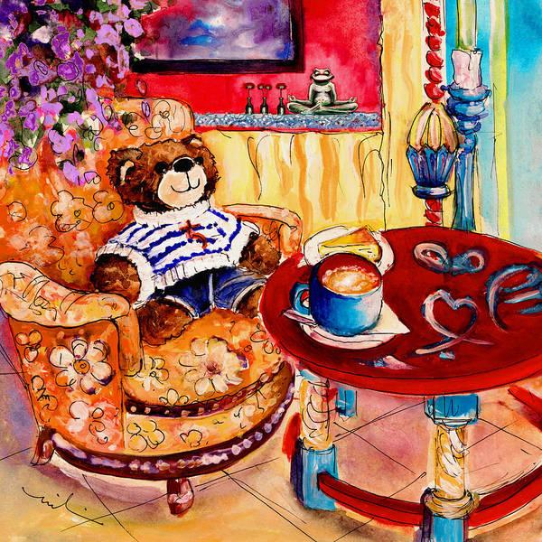 Painting - Truffle Mcfurry In Cala Ratjada by Miki De Goodaboom
