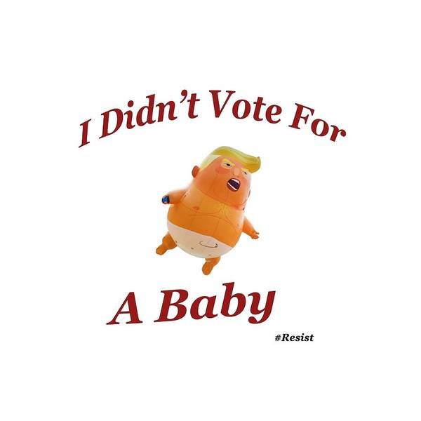 Photograph - Trump Baby Blimp by Bill Cannon