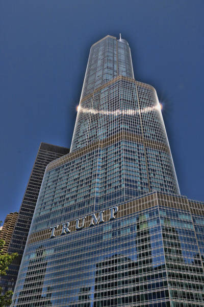 Photograph - Trump International Hotel And Tower # 4 by Allen Beatty
