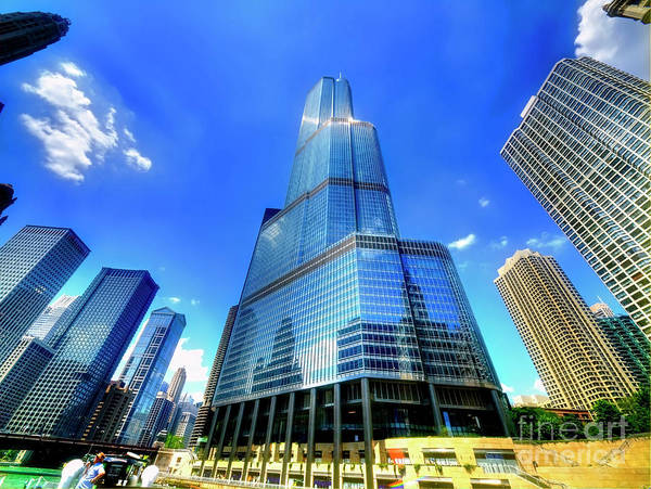 Photograph - Trump Tower Chicago Il  by Tom Jelen