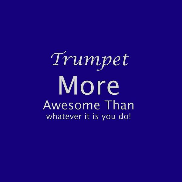Photograph - Trumpets More Awesome Than You 5555.02 by M K Miller