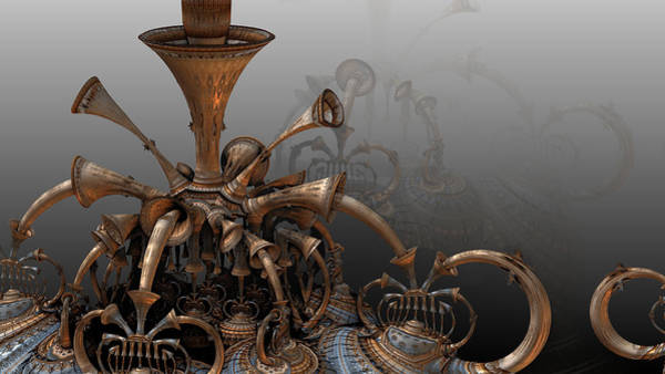 Trumpets Of Doom Art Print