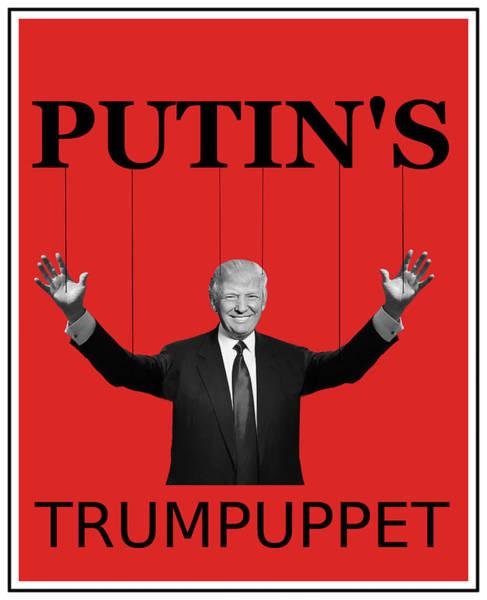Digital Art - Trumpuppet by Richard Reeve