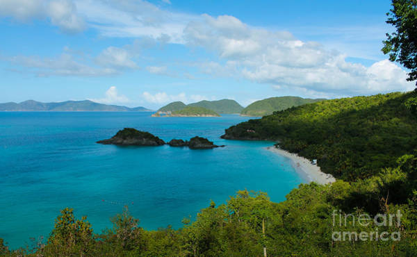 Photograph - Trunk Bay Beach II St. John by Julia Rigler