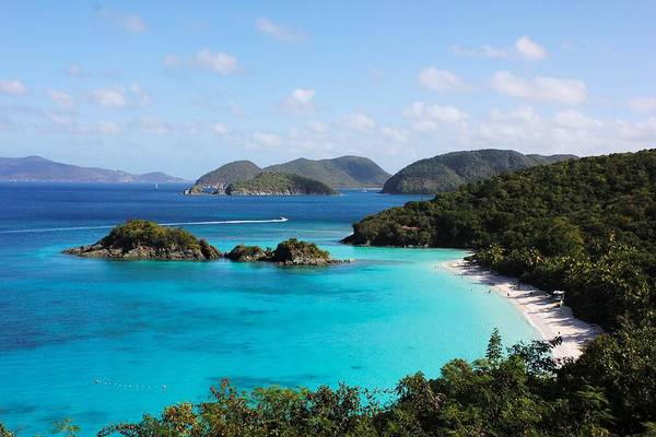 Trunk Bay, St. John Art Print