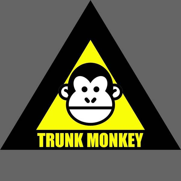 Digital Art - Trunk Monkey by Walter Chamberlain