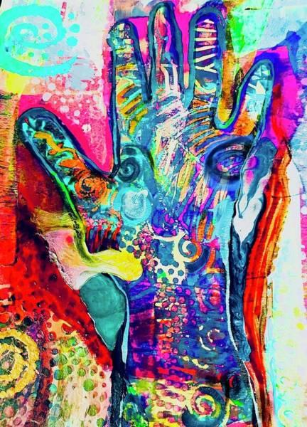 Beach Wall Art - Mixed Media - Trust And Power by Bridget Weber