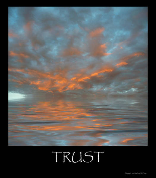 Wall Art - Photograph - Trust by Jerry McElroy