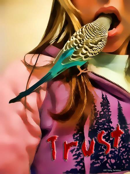 Photograph - Trust Me by Kathy Tarochione