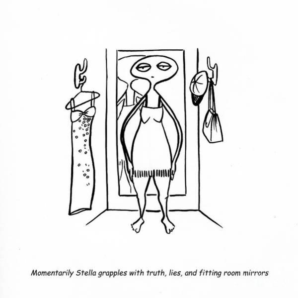 Feminist Digital Art - Truth And Lies by Leanne Wilkes