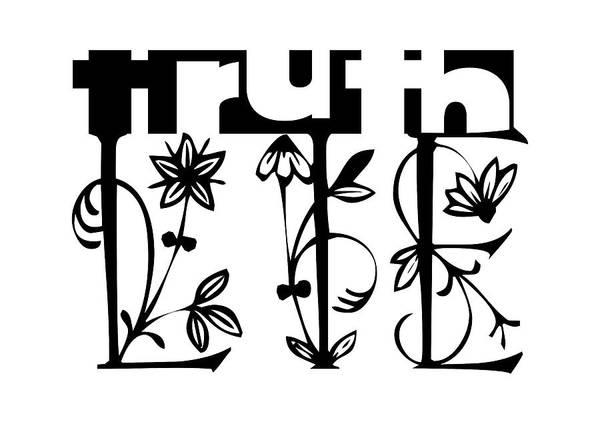 Divergence Digital Art - Truth - Lie Concept by Shu Fu