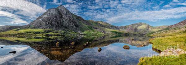Photograph - Tryfan And Lake Ogwen by Adrian Evans
