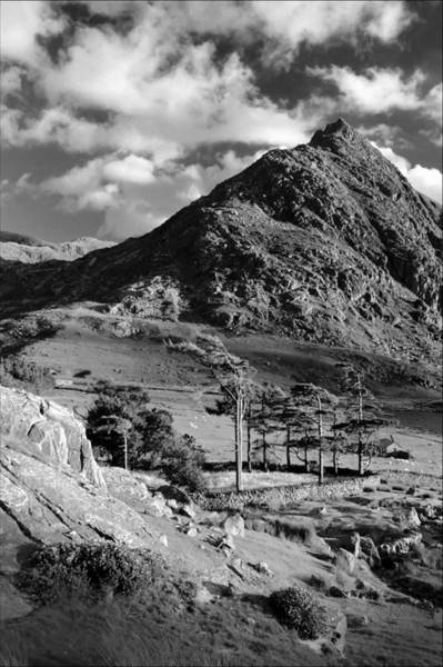Photograph - Tryfan And Ogwen Valley by Peter OReilly