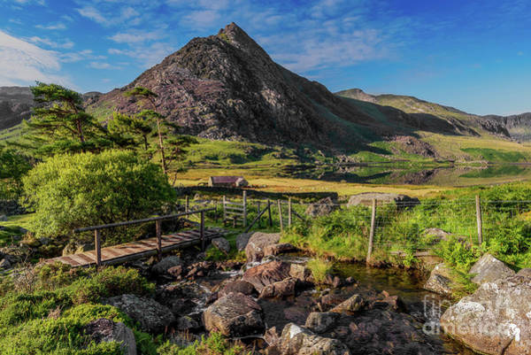 Photograph - Tryfan Mountain Valley by Adrian Evans