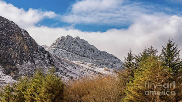 Photograph - Tryfan Mountains East Face by Adrian Evans