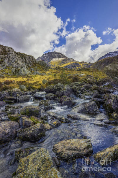 Photograph - Tryfan Stream by Ian Mitchell