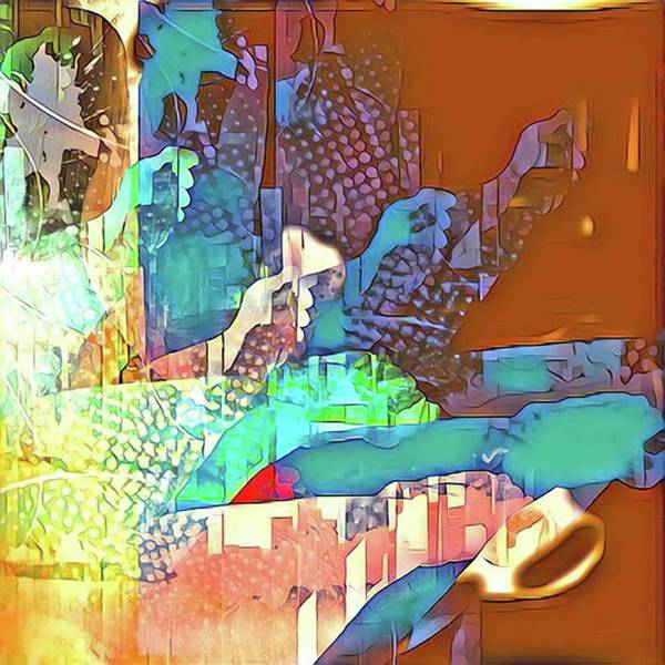 Wall Art - Digital Art - Attack Of The Collage by Gina Callaghan
