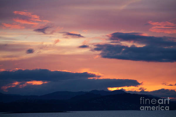 Photograph - Tsawassen Ferry Sunset by Donna L Munro