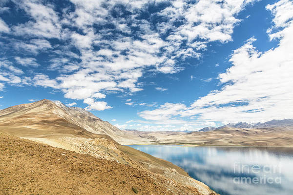 Photograph - Tso Moriri Or Lake Moriri In Ladakh, India by Didier Marti