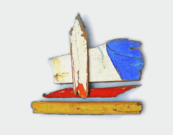 Lagos Painting - Tsunami De Stijl by Charles Stuart