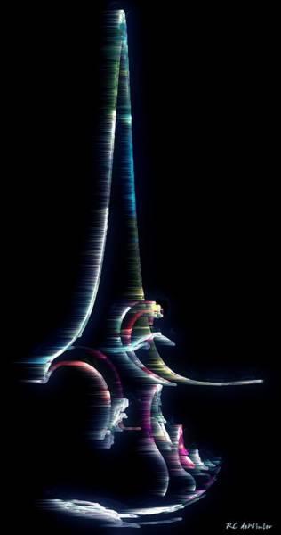 Digital Art - Tsunami by RC DeWinter