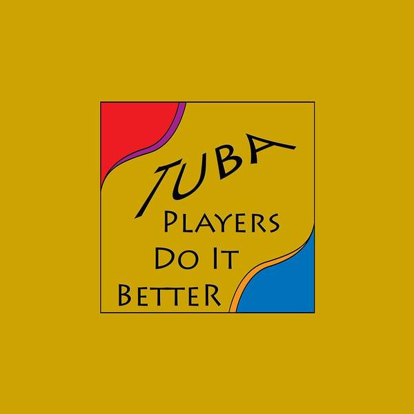 Photograph - Tuba Players Do It Better 5654.02 by M K Miller