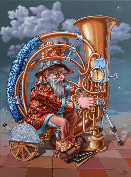 Painting - Tuba by Victor Molev