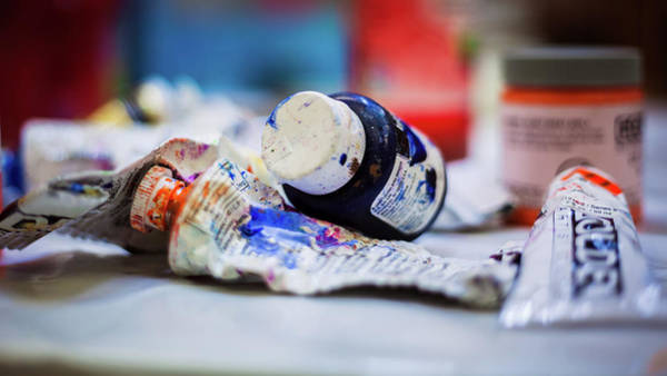 Photograph - Tubes Of Paint by Jeanette Fellows