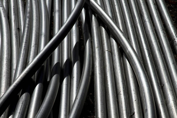 Photograph - Tubular Abstract Art Number 12 by James BO Insogna