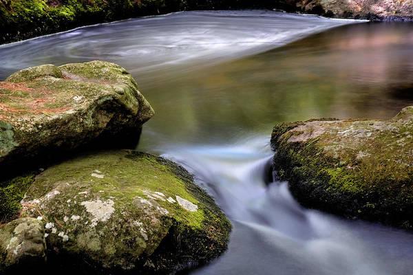 Photograph - Tucker Falls Rocks by Tom Singleton