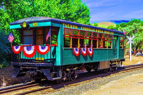 Wall Art - Photograph - Tucson Cornelia And Gila Bend R R Train Car by Garry Gay