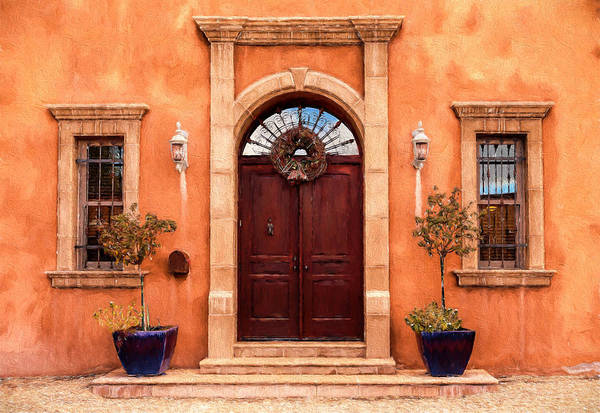Photograph - Tucson Home by Susan Rissi Tregoning