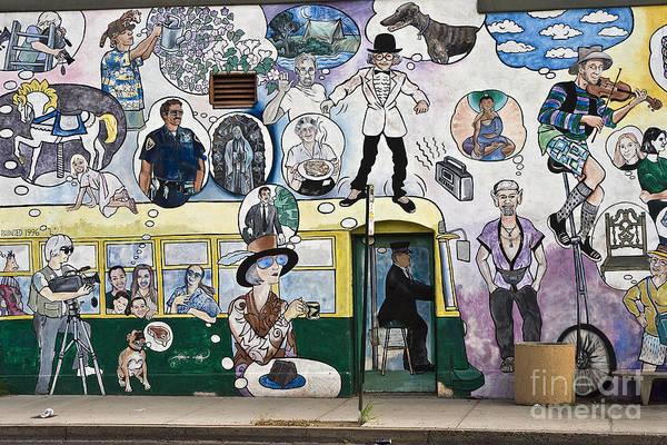 Wall Art - Photograph - Tucson Mural by Tim Hightower