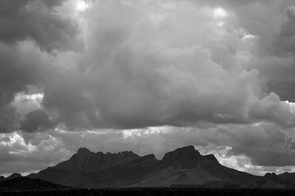 Photograph - Tucson V Bw by David Gordon
