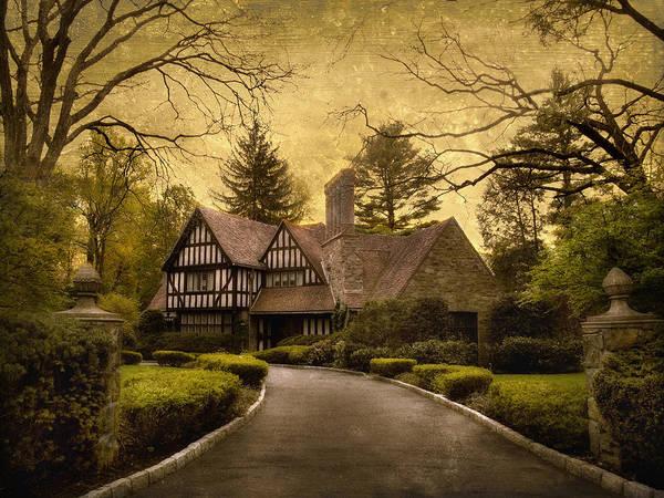 Driveway Photograph - Tudor Estate by Jessica Jenney