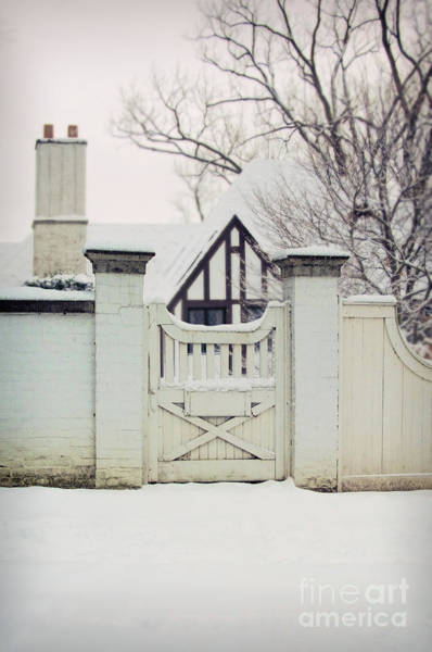 Wall Art - Photograph - Tudor In Winter by Jill Battaglia