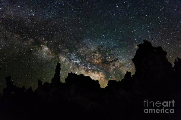 Photograph - Tufa Milky Way by Mark Jackson