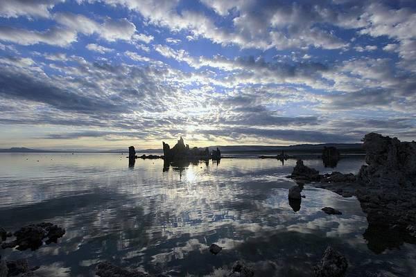 Photograph - Tufa Rising by Sean Sarsfield
