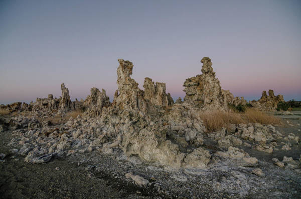 Photograph - Tufas At Dusk by Margaret Pitcher
