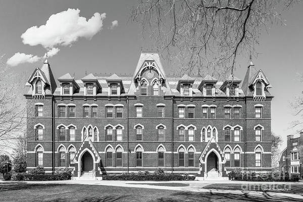 Photograph - Tufts University West Hall by University Icons