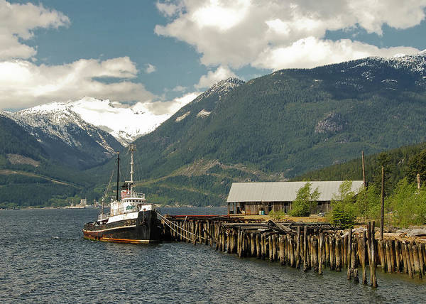 Photograph - Tug In Howe Sound by Doug Matthews