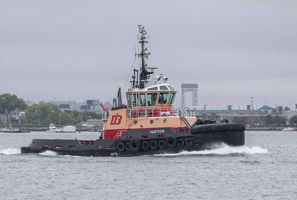 Photograph - Tugboat Justice by Brian MacLean