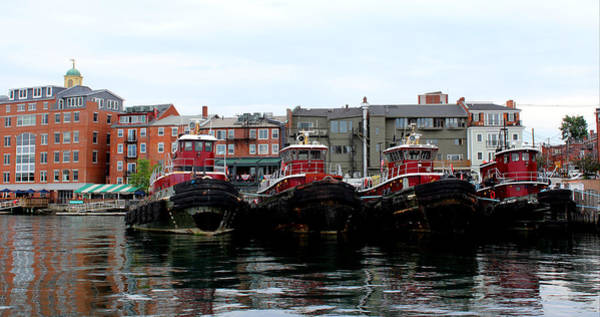 Wall Art - Photograph - Tugboats by Dominic Labbe