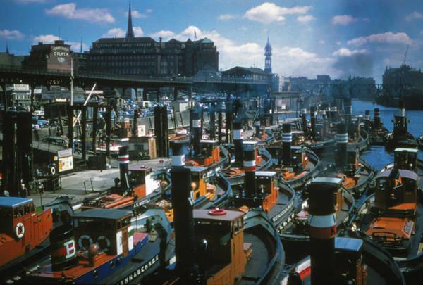 Photograph - Tugs - Hamburg by Samuel M Purvis III